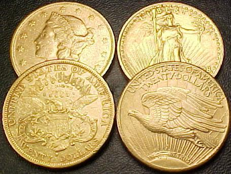 Dies Ranch Gold Coins